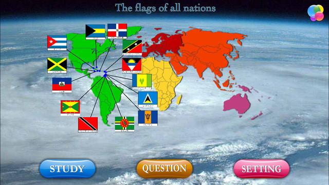 National flag quiz FVD