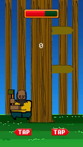 Timber Guy Chopping Wood