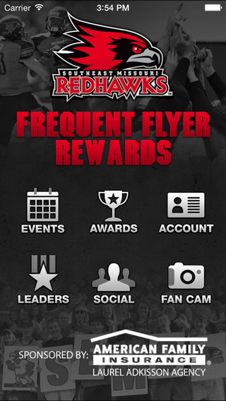 Redhawks Frequent Flyer Rewards