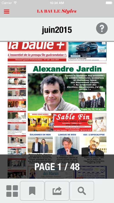 LA BAULE PLUS iPhone Screenshot 2