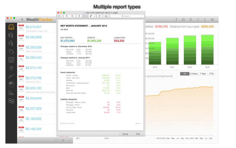 Wealth Tracker for Mac
