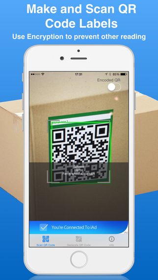 Fast QR Scan and Label maker