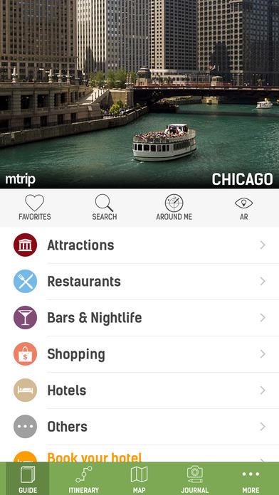 Chicago Travel Guide - mTrip iPhone Screenshot 1