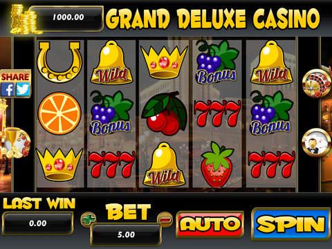 grand roulette deluxe fehler