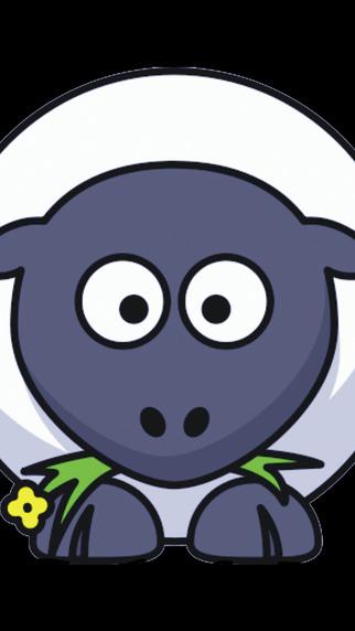 Shaggy Sheep Wales