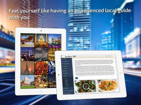 Bangkok Travel Guide offline maps