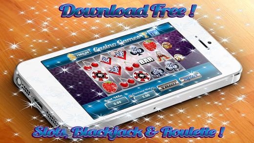 AAA Aattractive Vegas Jackpot Blackjack Roulette Slots Jewery Gold Coin$
