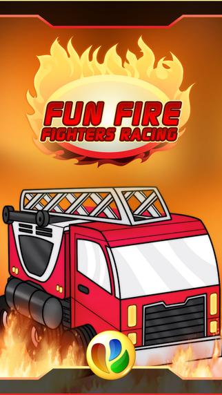 Fun Fire Fighters Racing Game