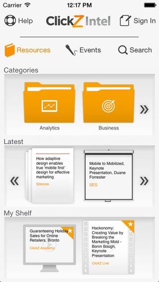 ClickZ Intel Online Digital Marketing Resources