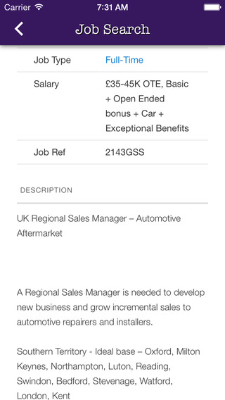 Auto Jobs - Glen Callum Associates