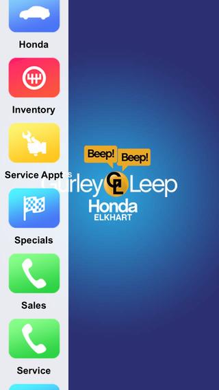 Gurley Leep Honda Dealer App