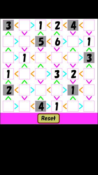 Unequal Sudoku