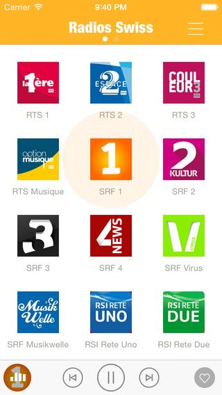 Radios Swiss Swiss Radio Schweiz Radios