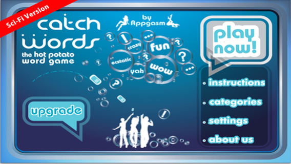 App123 Catch Words Sci Fi