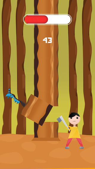 Turkey the Lumberman - Never Pause to Cut the Tree