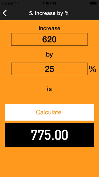 玩免費生產應用APP|下載Percent Calculater : number percentage math value change calculator app不用錢|硬是要APP