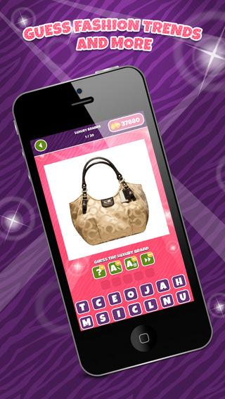 Fashion Pop Star Trivia - Guess the Top Models Designer Handbags or Shoe Brands Quiz