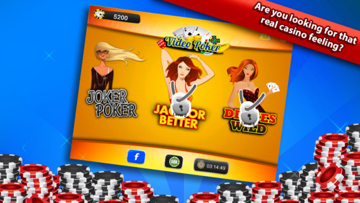 Video Poker Free - Bonus Ace of Spades Party