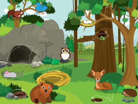 Animals - educational puzzle games for kids and toddlersscreeshot 5