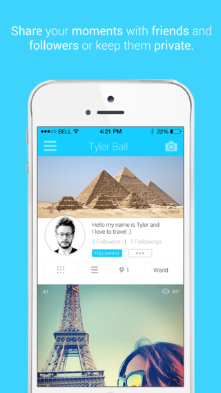 Pinit - Discover and share amazing places