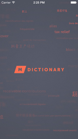 MDictionary – English-Chinese Finance Banking and Accounting Dictionary with categories. MDictionary