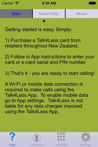 Talk4Less screenshot 2