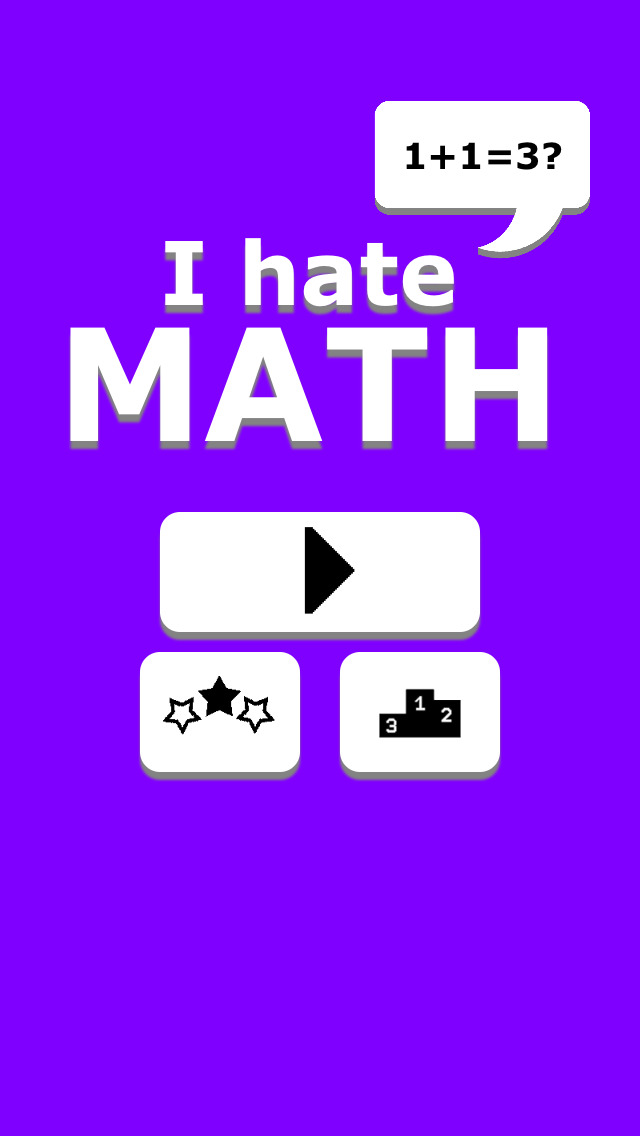 do you hate math I hate being forced to do math, or being made to feel dumb because i'm not good at it i take longer than most people to learn how to solve equations, but once i learn and am confident in it, i actually enjoy it.