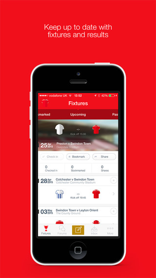 Swindon Town FC Fan App