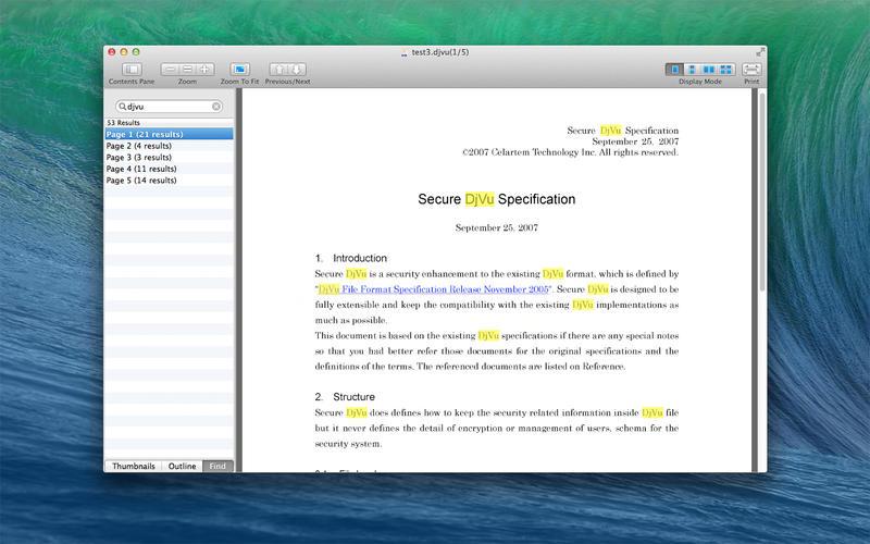 DjVu Reader Screenshot - 3