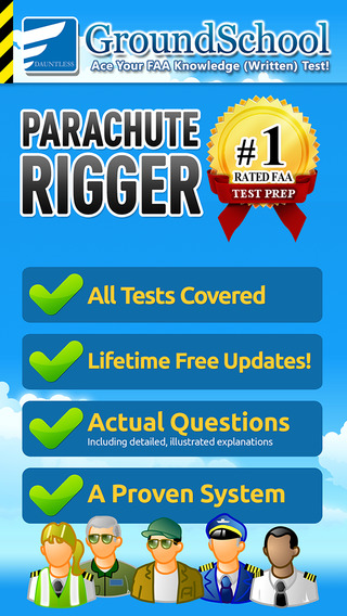 GroundSchool FAA Knowledge Test Prep - Parachute Rigger