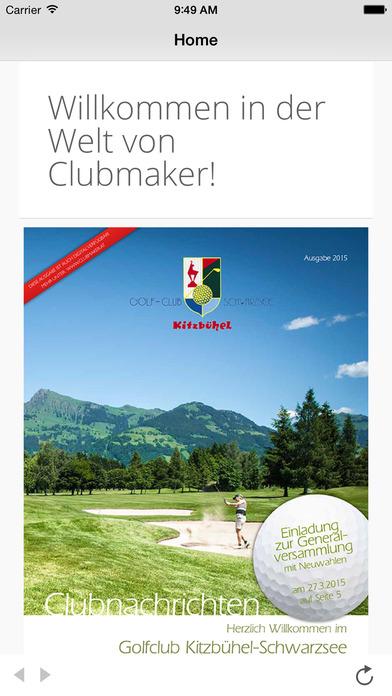 Clubmaker HD iPhone Screenshot 1