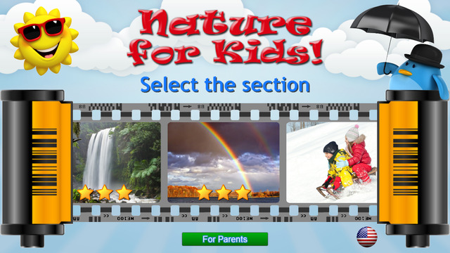 Kids learn about Nature - Flashcards for Toddlers