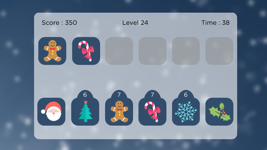 Holiday Match - Winter Edition - Memory Puzzle
