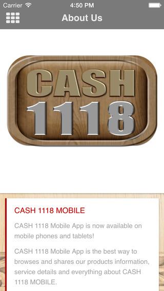 CASH1118