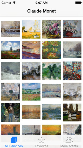Monet 308 Paintings HD Ad-free - Famous paintings of Claude Monet