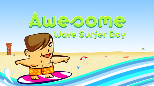 Awesome Wave Surfer Boy - play speed racing sport game