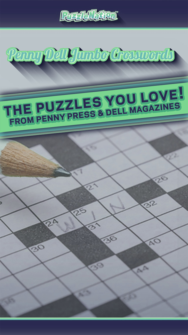 FREE app includes 12 Penny Press and Dell Magazines Crossword puzzles representing all difficulty levels. Great Features. Optional alternate clues for every entry. Unique to Penny/Dell apps. Smart navigation advances effortlessly from one entry to the next. Switch effortlessly between Pen and Pencil solving styles. Show and Hide errors with the.