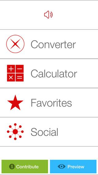 ConvertX - Units & Currency Converter iPhone Screenshot 3