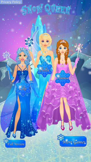 Arctic Snow Queen Salon - Frosted Princess Makeover Game
