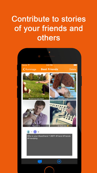 Foxytale - Create picture tales and share them with the world
