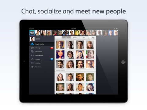 meet people chat socialize
