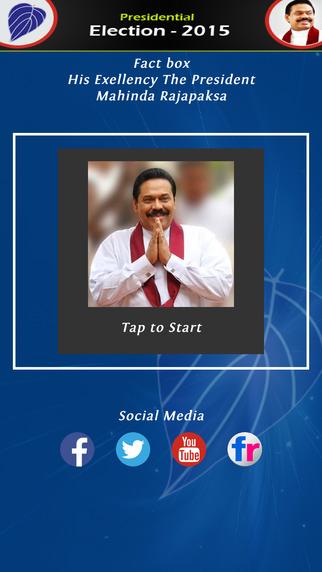 Fact Box Mahinda Rajapaksa