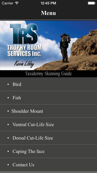 Taxidermy Skinning Guide PRO