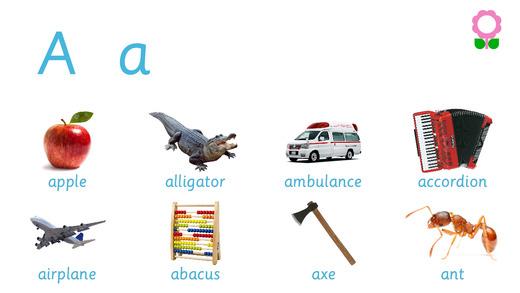 Alphabets Vocabulary book for Kids Kindergarten and Preschool Alphabet Dictionary Free Educational F