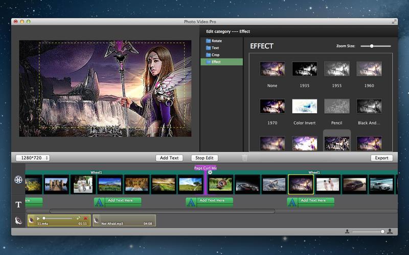 Photo Movie Maker - Slideshow Screenshot - 4