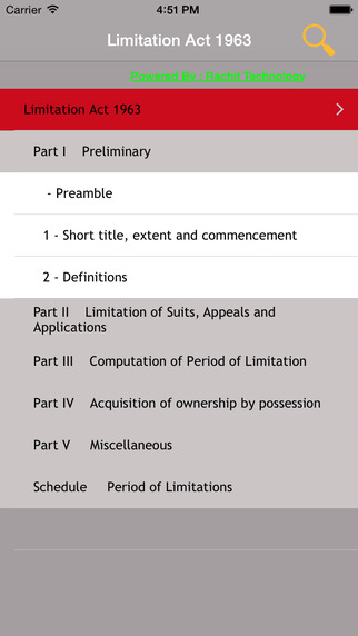 Limitation Act 1963