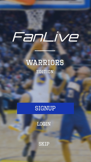 FanLive Warriors Basketball Sports Fan Video - Golden State Edition