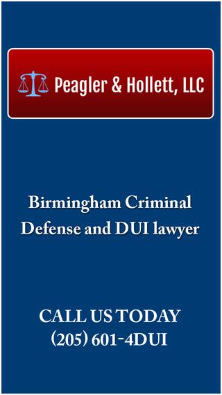 Peagler and Hollett DUI Help App