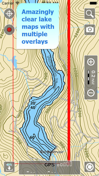 Aqua Map Pennsylvania - Lakes GPS Offline Nautical Charts