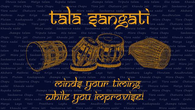 TalaSangati - Rhythm Tempo to go
